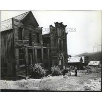 1975 Press Photo Elkhorn Montana ghost town - spa49872