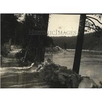 1928 Press Photo Scene along the Pend Oreille River - spa54936
