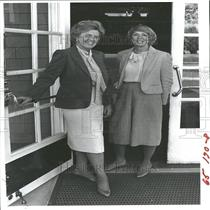 1982 Press Photo Women's Society Marge Cozart