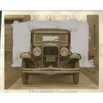 1931 Press Photo Dodge Six Sedan Car - neo08449
