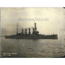 1919 Press Photo Armored Cruiser - nef67827