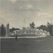 1930 Press Photo Fountain of Time