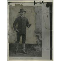 1927 Press Photo Edward P Weston Travels 5000 miles in 100 Days in 1884 England