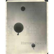 1927 Press Photo Scripps Howard Balloon - nef68470