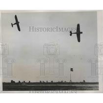 1935 Press Photo All-American Air Maneuvers in Miami Florida December 14