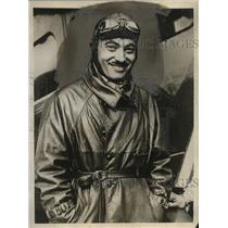 1927 Press Photo Aviator Paul Tarasoon to fly Atlantic from Paris to NY