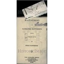 1922 Press Photo Nathaniel Hawthorne Novelist Story - RRU29753
