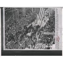 1963 Press Photo parade New York City astronaut Cooper