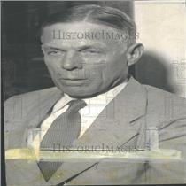 1933 Press Photo William Dodd Professor AmericanHistory