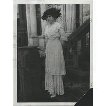 1914 Press Photo Miss Genevieve Clark James Thompson - RRY46543