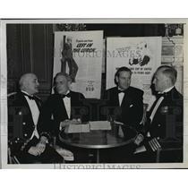 191 Press Photo New York Social leaders at National Defense dinner NYC