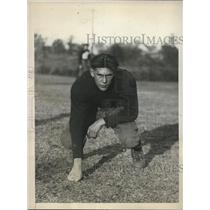 1930 Press Photo Freddie Booth, brother of Albie Booth, QB of Hill House High