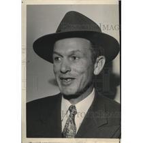 1952 Press Photo Gonzaga Prep football coach, Bill Frazier - sps05261