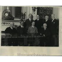 1929 Press Photo New York State Delegates Pledge to Al Smith NYC - neny17825