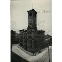 1929 Press Photo The City Hall, Tacoma, Washington - spx18296