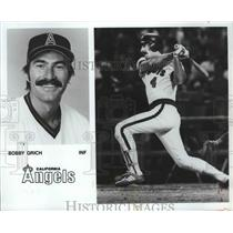 1983 Press Photo California Angels baseball player, Bobby Grich - sps05951