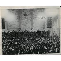 1921 Press Photo New York Stock Exchange Kids Christmas Party NYC - neny17865