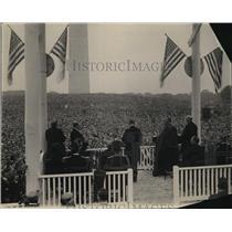 1924 Press Photo New York Crowds NYC - neny18868