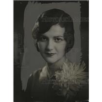 1928 Press Photo New York Margaret Cobb NYC - neny20652