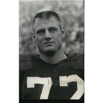 1961 Press Photo Draft Pick of New York Giants Ben Davidson - mja67046