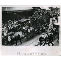 1920 Press Photo Circus World Museum circus parades - mja69752