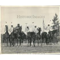 1931 Press Photo Five Argentine polo players to play in S. California matches