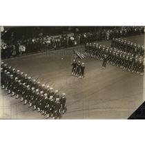 1918 Press Photo New York US Navy Parade NYC - neny22998