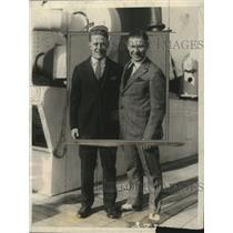 1925 Press Photo Athletes Charles Paddock & Loren Murchison - neo09082