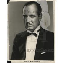 1929 Press Photo Actor Robert Ellis - neo09315