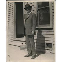 1923 Press Photo John Bloodwotth Oldest Deputy Sheriff - neo10637