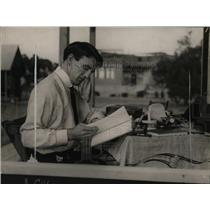 1923 Press Photo Freddie Welch as Student - neo10743