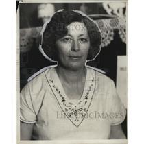 1930 Press Photo Mrs Arthur Watney of Lakewood Ohio president of an organization