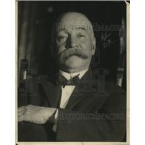 1922 Press Photo Eugene A Johnson Warden of Ludlow State Jail, New York