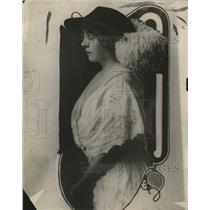 1914 Press Photo Helen Mesow blind singer ready to perform - neo14923