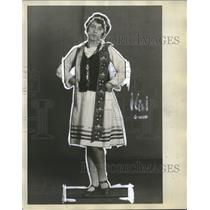 1929 Press Photo Harriette Oleksich Polish - neo15105
