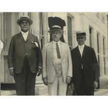 1923 Press Photo Order of Railway Conductors VP L..E. Sheppard to Discuss Labor