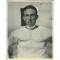1929 Press Photo Jesse Mortensen, Half Back, University of Southern California