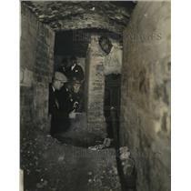 1925 Press Photo Washington D.C. Tunnel - neo17734