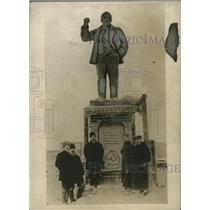 Press Photo Vladimir Lenin Statue Near Moscow, Lenin - neo18341