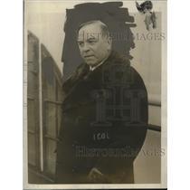 1926 Press Photo W.L. Mackenzie King, Prime Minister of Canada - neo18480