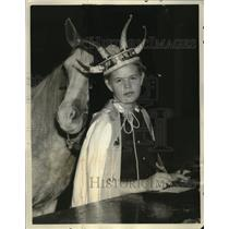 1936 Press Photo Jean Isaacke Las Cruces New Mexico champion cowgirl - neo20376