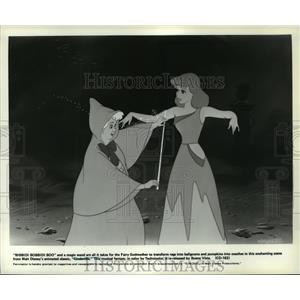 1949 Press Photo A scene from Walt Disney's animated classic, Cinderella.