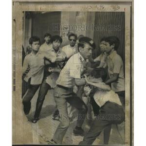 1971 Press Photo Antigoverrnment Tran Tuan Nham Saigon - RRX89869