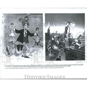 1970 Press Photo A scene from Walt Disney Productions' The Aristocrats.