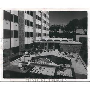 1904 Press Photo New wing of Madison hospital has rehabilitation & psychiatric