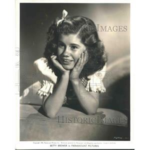 1940 Press Photo Actress Betty Brewer at Age Thirteen - nox10757
