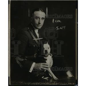 1918 Press Photo Captain Jacques Boyriven French Aviation Instructor - nem47576