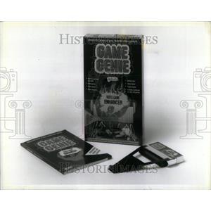 1991 Press Photo Game Genie Lewis Galoob Toys Video - RRU87407