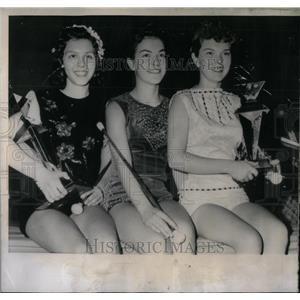 1958 Press Photo National Majorette Championship Winner - RRX09885
