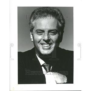 1991 Press Photo Barenboim Music Director Chicago Symp - RRV77705